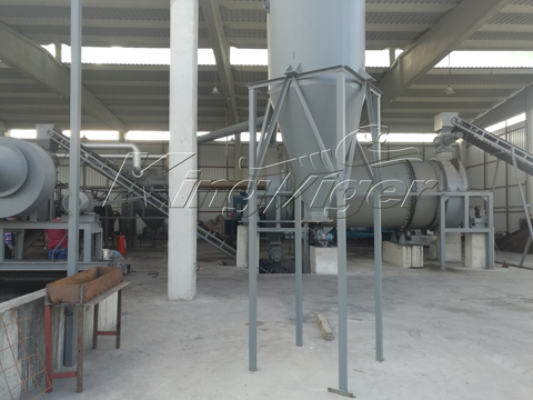 charcoal manufacturing machine