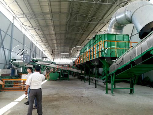 Solid Waste Sorting Equipment